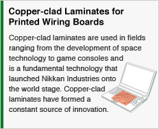 Copper-clad Laminates for Printed Wiring Boards